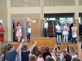 2019-06-03 Lesewettbewerb 6©Grundschule Havelse