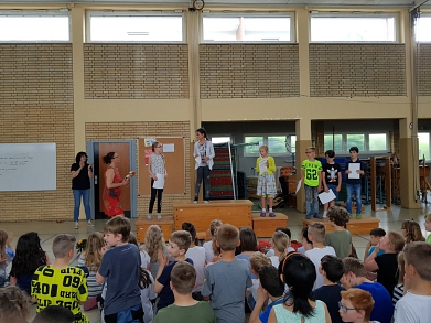 2019-06-03 Lesewettbewerb 7©Grundschule Havelse